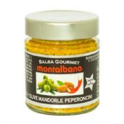 Olive, Almond & Peperoncini Sauce from Italy